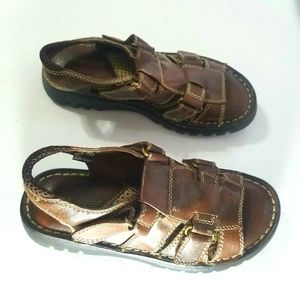 Montego bay club leather sandals size 6 1/2